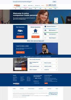 Swinton homepage