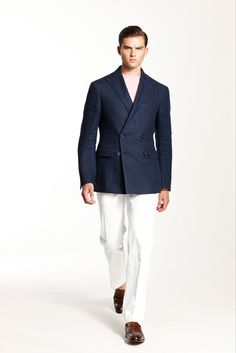 Ralph Lauren Spring 2014 Menswear - Collection - Gallery - Style.com
