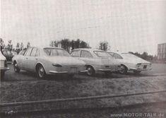 OG   1962 Porsche Design proposals   Designed by Ghia