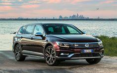 Descargar fondos de pantalla Volkswagen Passat Alltrack Wolfsburg Edition, 4k, 2018 cars, spanish cars, VW, Volkswagen