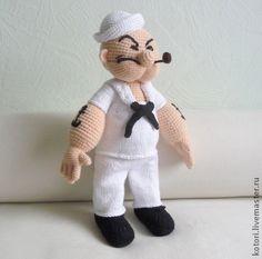Crochet Pattern Popeye Doll : 1000+ images about poppen haken en breien. on Pinterest ...