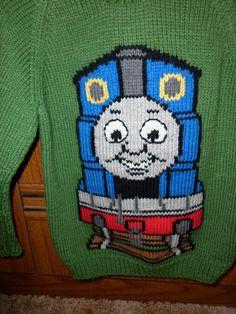 Pdf File Thomas The Tank Engine Intarsia Knitting By