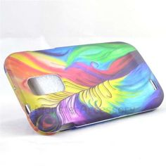 $7.95 > 10% Coupon Code : Pinthis Rainbow Peacock Hard Cover Case for the Samsung Galaxy S2 Hercules T989