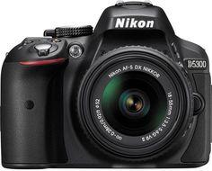 Nikon D5300 Cheat Cards
