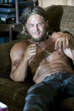 Travis Fimmel of #Vikings...just, wow.  Inspiration for Dothan.