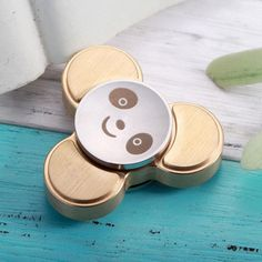 Cool Panda Fidget Spinner Classic Stress Toy by AnyGO - Best Metal EDC Hand Spinner for Children Cool Fidget Spinners, Metal Fidget Spinner, Figit Spinner, Figet Toys, Cool Panda, Stress Toys, Classic Toys, Edc, Children Toys