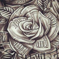 "Melancoly Free [Short Loop] ""Chill"" by RoseTheProducer Chicanas Tattoo, Forarm Tattoos, Tattoos Skull, Tattoo Fonts, Rose Tattoos, Body Art Tattoos, Hand Tattoos, Tattos, Easy Tattoos To Draw"