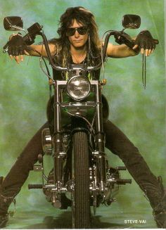 Uploaded by Metal chick. Find images and videos about whitesnake and steve vai on We Heart It - the app to get lost in what you love. Heavy Rock, Heavy Metal, Rock Music, My Music, 80s Rock Fashion, Band On The Run, Biker, Steve Vai, Glam Metal