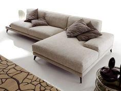 Download the catalogue and request prices of Shade | corner sofa By ditre italia, corner fabric sofa design Stefano Spessotto, Lorella Agnoletto