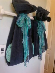 1000 images about bath towel display on pinterest bath for How to tie towels in bathroom