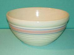 Hull Pottery Mixing Bowl
