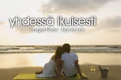 yhdessä ikuisesti ~ together forever Language Study, Language Lessons, Second Language, Finnish Tattoo, Learn Finnish, Finnish Words, Finnish Language, Together Forever, Motivation