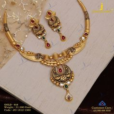 Get In Touch With us on Gold Earrings Designs, Gold Jewellery Design, Necklace Designs, Silver Jewelry, Jewellery Box, Antique Necklace, Antique Jewelry, Gold Necklace, Short Necklace