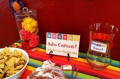 Salas Contest! Mexican Bridal Shower!
