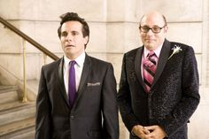 Anthony Marentino (Mario Cantone) and Stanford Blatch (Willie Garson) ~ Sex and the City (2008) ~ Movie Stills ~ #satc2008 #satcmovie #satc #sexandthecitymovie #moviestills