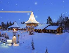 Lapland at Christmas Time