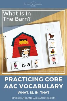 Providing Core AAC Vocabulary Support