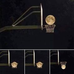 Basketball Moon Illusion - http://www.moillusions.com/basketball-moon-illusion/