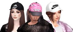 MISSPARAPLY | [TS4] The Leona Cap New mesh edit by me Unisex 25...