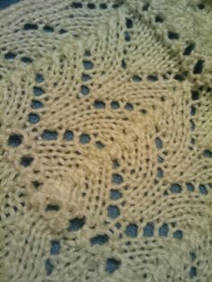 Knit So Simple: 2010 in Lace ~ fishtail lace Lace Knitting, Knitting Stitches, Knitting Patterns, Knit Lace, Blanket, Fishtail, Crochet, Simple, Charts