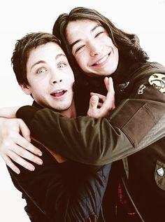 Logan and Erza