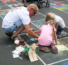 A collaborative effort teaching sharing and teamwork