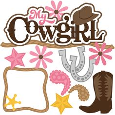 My Cowgirl - SVG Scrapbooking Files