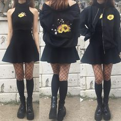 "12.2k Likes, 85 Comments - ✨kokopie USA Official Page (@kokopie_shop) on Instagram: ""Sunflower #grunge #tumblraesthetic #kawaiigrunge #tumblrgrunge"""