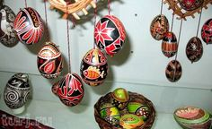 Pysanka Museum in Kolomyia, Ivano-Frankivska Oblast, Ukraine. At this time, the museum possesses a collection of over 10,000 pysanky. The permanent collection includes pysanky from the majority of the oblasts of Ukraine.
