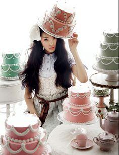 Looking Glass: Marie Antoinette Meets Alice in Wonderland...?