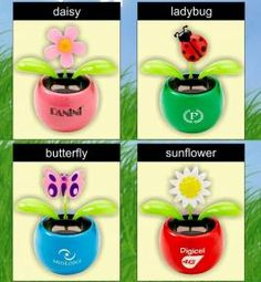 Dancing Solar-Powered e-Flowers