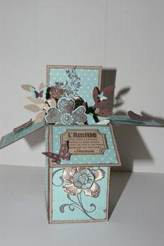 carte boite pop up -  aurore bideau