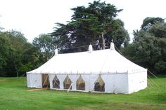 Our Big Top Marquee