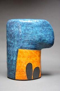 """Nina Else Cactus Under Blue 21.5\""""x18\"""" $900"""