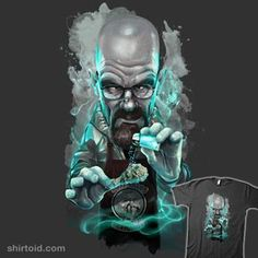Horror Movie Caricatures   Buy at Design By Humans Art Breaking Bad, Breking Bad, Walter White, Heisenberg, Graffiti Art, Cartoon Art, Pop Art, Street Art, Artwork