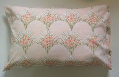 beautiful handmade pillowcase made from vintage by annamadegoods