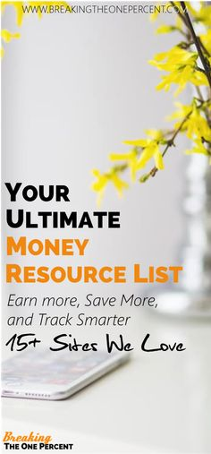 websites that help you earn, save, and track your money. If you aren't using these tools (most of which are free), you are seriously missing out. Smart Money Tips Personal Finance Make Money Online Earn Extra Money Investing Tips Money Now, Earn More Money, Ways To Save Money, Money Tips, Money Saving Tips, Make Money Online, How To Make Money, Money Hacks, Online Earning