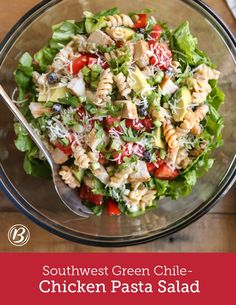 Whip up this show-stopping layered pasta salad in minutes. It's made easy with a box of Suddenly Pasta Salad™ and made delicious with chicken and fresh ingredients. To make ahead, mix all ingredients except lettuce and avocado. Cover and refrigerate up to 1 day. Mix in lettuce and avocado just before serving.