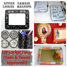 DIY Crafts for School Lockers - Save More Spend Less with Heidi