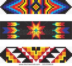 Traditional American Indian pattern