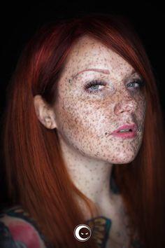 selene's freckles by iNBLACK cesare on 500px