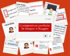 #Google+ s'intègre parfaitement avec Blogger car ils sont tous les deux des produits de #Google . Un http://lewebsurpris.blogspot.com/2014/02/lintegration-parfaite-de-google-avec.html