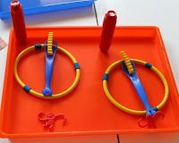 Copy Me - A critical thinking activity for your preschooler using simple objects from around your house. Quick setup and very fun! Critical Thinking Activities, Toddler Learning Activities, Montessori Activities, Fun Learning, Montessori Homeschool, Preschool Scavenger Hunt, Preschool Class, Kindergarten Fun, Building Games For Kids
