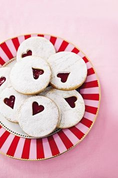 Jam-Filled Love Hearts - favours or table treats for your guests!