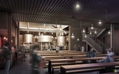 Schlafly Tap Room St Louis Brewery Spaces Pinterest
