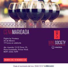 Te invitamos a la cata mensual de Wine Society impartida por nuestro Sommelier, en donde degustaremos los 4 vinos seleccionados de este mes; cada uno maridado con platillos especiales diseñados por nuestro chef.  ¿Ya te uniste al movimiento?