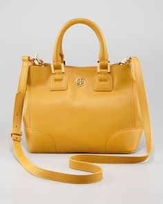 Robinson Square Tote Bag, Mini by Tory Burch at Neiman Marcus.