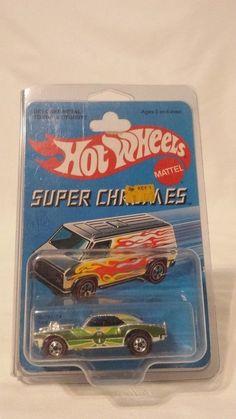 New Hot Wheels Super Chromes Heavy Chevy No. 9212 NOC from Redline Era #HotWheels #Chevrolet