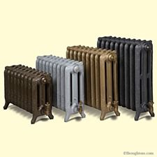 The Oxford Cast Iron Radiator: A magnificent range of radiators and one of the first decorative cast iron radiator styles produced in France in the la