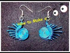 Como Hacer Pendientes en alambre(2)//How to Make a Wire Pendant (2). By Puntoy Alambre